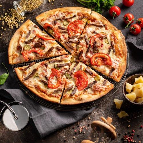 Пицца Мит Гриль