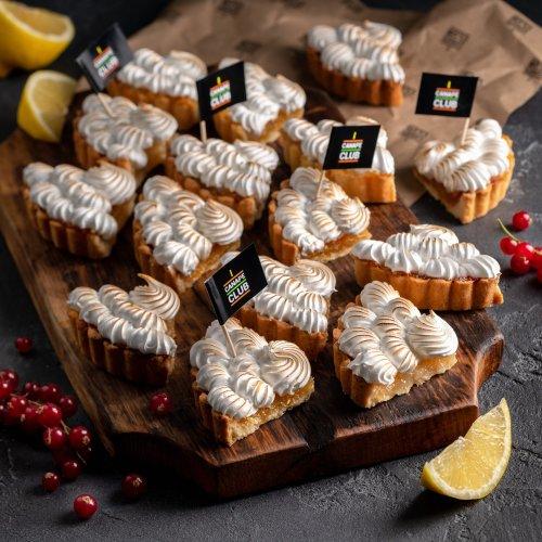 Лимонные тарты с меренгой