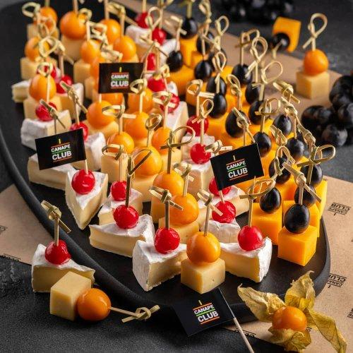 Коллекция сырных канапе Кинг Сайз