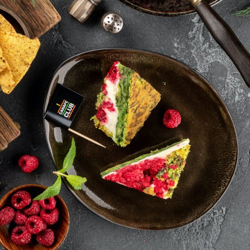 Десерт Малиновое наслаждение