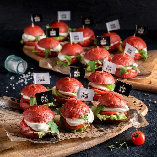 Мини бургеры Капрезе