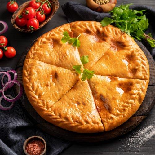 Осетинский пирог с бараниной
